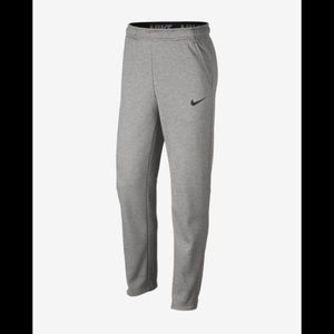 "Nike grey Therma Fit sweatpants.  Size XL x. 32""."